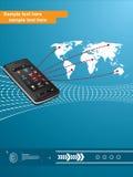 Мобильные телефонные связи Стоковые Фотографии RF