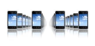 мобильные телефоны Стоковые Изображения