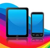 Мобильные устройства Стоковые Изображения RF