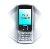мобильный телефон вибрируя стоковое фото