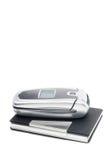 мобильный телефон владельец карточки Стоковая Фотография