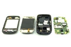 Мобильный телефон демонтирует Стоковые Изображения