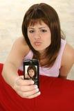 мобильный телефон камеры Стоковое Изображение RF