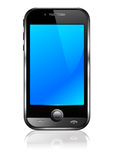 мобильный телефон клетки франтовской Стоковое Изображение