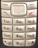 мобильный телефон макроса Стоковое Изображение