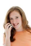 мобильный телефон предназначенный для подростков Стоковые Изображения