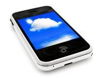 мобильный телефон Стоковое Изображение
