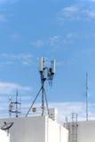 Мобильная телефонная связь антенны Стоковое Изображение RF