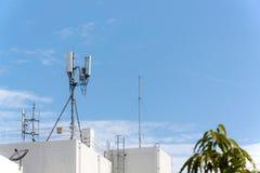 Мобильная телефонная связь антенны Стоковые Изображения RF
