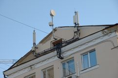 Мобильные телефонные связи Стоковое Фото