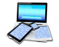 Мобильные устройства Стоковые Фотографии RF