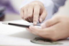 Мобильный бизнес Стоковое фото RF