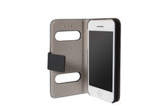 Мобильный телефон в сумке Стоковые Фотографии RF