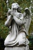 могила ангела старая Стоковая Фотография