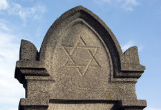 могила еврейская Стоковые Изображения RF