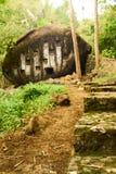 Могила камня Kalimbuang Bori Стоковая Фотография RF