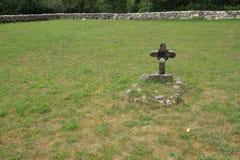 могила сиротливая Стоковые Изображения RF