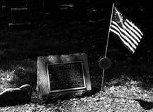Могила Фрэнсиса Hopkinson в могильнике Филадельфии церков Христоса, PA, США стоковые изображения rf