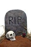 Могила Halloween Стоковое Изображение RF