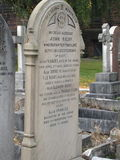Могила Элеаноры Rigby, Ливерпуль, Англия Стоковое фото RF