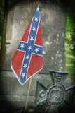 Могила Confederate Стоковое Фото
