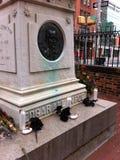 Могила Poe Стоковые Фото