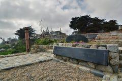 Могила ` s Pablo Neruda Музей дома Касы de Isla Negra Pablo Neruda Isla Negra Чили Стоковые Фотографии RF