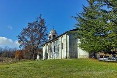 Могила Yane Sandanski и старой церков около монастыря Rozhen, Болгарии Стоковые Изображения RF