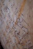 Могильные камни в Georgia, Кавказе Стоковое фото RF