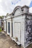 Могильные камни на кладбище Лафайета никаком 1 в Новом Орлеане Стоковое фото RF
