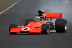 могут mcrae автомобиля участвуя в гонке скорость Стоковое фото RF