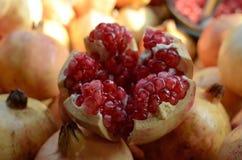 могут superfoods съемки семян pomegranate макроса одного холестерола близкие более низкие вверх Стоковые Фото