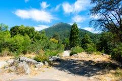 Могущественная гора Стоковая Фотография