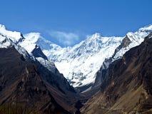 могущественная гора Rakaposhi стоковая фотография