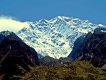 могущественная гора Rakaposhi стоковые изображения