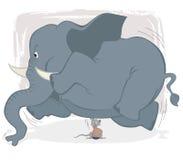могущественная мышь иллюстрация штока