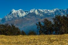 Могущественные Гималаи Стоковые Изображения