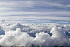 Могущественные горы облаков в Trentino Стоковые Фотографии RF