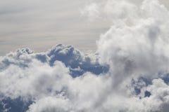 Могущественные горы облаков в Trentino Стоковое Изображение RF