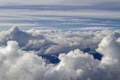 Могущественные горы облаков в Trentino Стоковые Изображения
