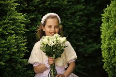 Мода, Золушка, принцесса стоковые фотографии rf