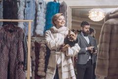 Мода и красота, зима стоковое фото rf