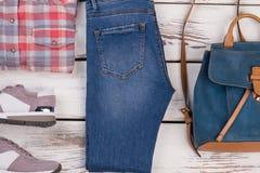 Мода лета ищет подросток Стоковая Фотография RF