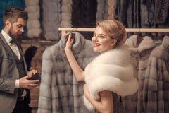 Мода меховой шыбы стоковая фотография