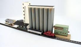 моделируйте поезда Стоковые Изображения