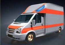 Модели дизайна машины скорой помощи Стоковая Фотография