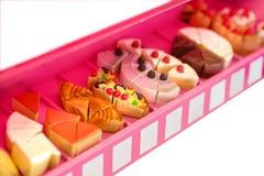 Модели или фальшивка или закуска или десерт игрушки как сыр торта плодоовощ стоковое фото rf