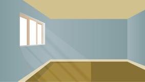 модельная комната фактически иллюстрация вектора