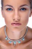 модельное ожерелье Стоковые Фотографии RF