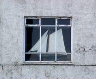 модельное окно корабля Стоковое Изображение